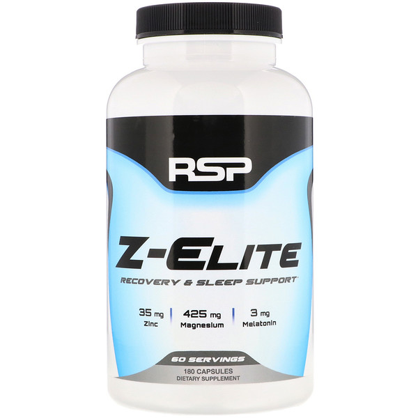 RSP Nutrition, Z-Elite, Recovery & Sleep Support, 180 Capsules