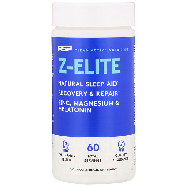 RSP Nutrition, Z-Elite, 180 Capsules