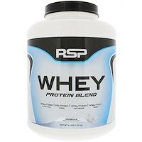 Смесь сывороточного протеина, ваниль, 1,81 кг - фото