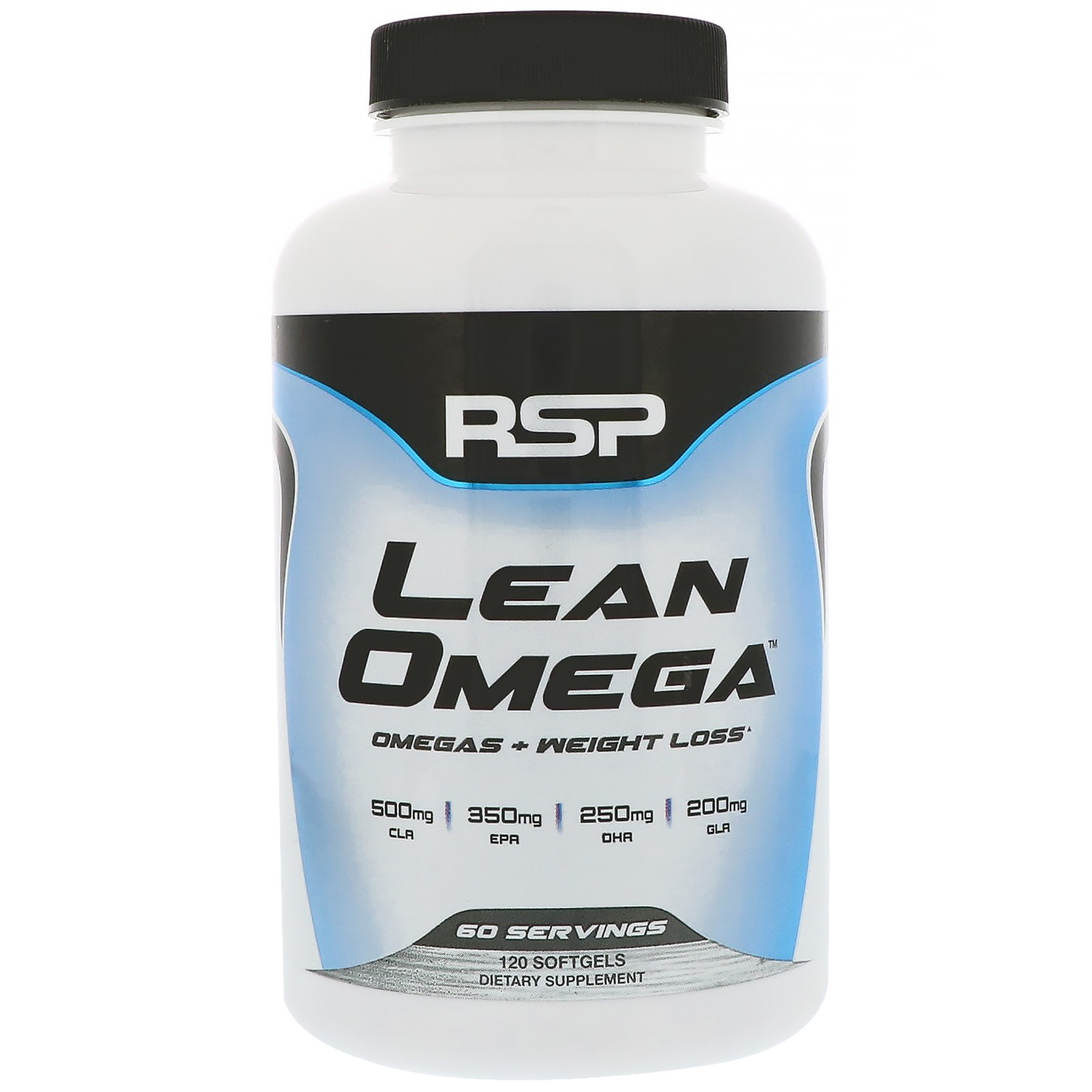 RSP Nutrition , Lean Omega, Omegas+Weight Loss, 120 Softgels