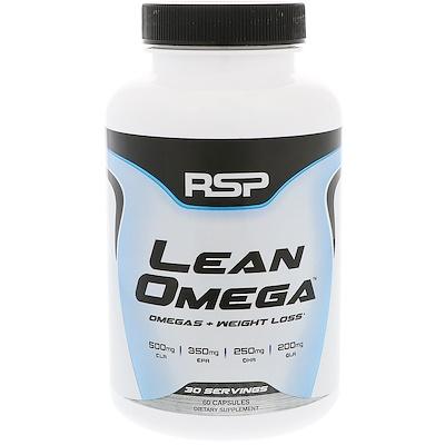 RSP Nutrition Lean Omega,Omega + 減肥,60粒軟膠囊