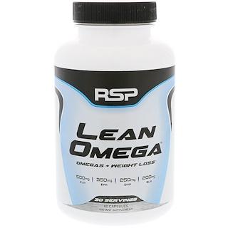 RSP Nutrition, لين أوميجا، أوميغا + فقدان الوزن، 60 كبسولة نباتية