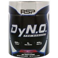 DyN.O. для приема перед тренировкой, фруктовый заряд, 7,9 унции (225 г) - фото