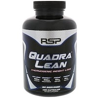 QuadraLean Thermogenic Weight Loss, Energy + Fat Loss + Focus, 180 Capsules - фото