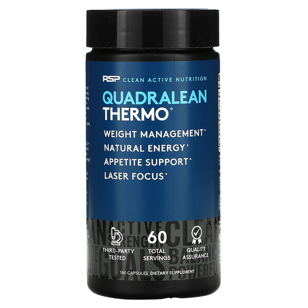 QuadraLean Thermo(クアドラリーンサーモ)、脂肪燃焼、180粒