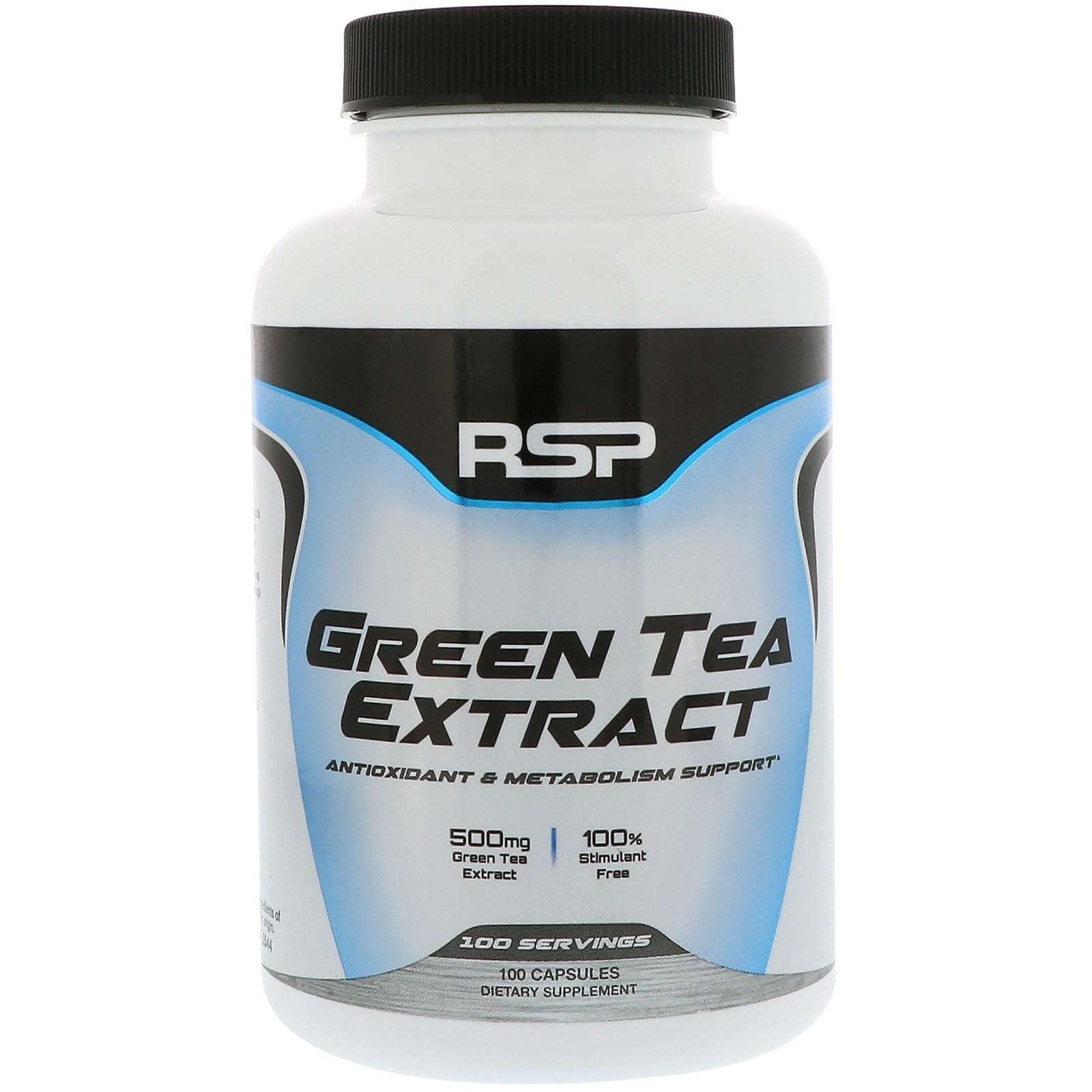 RSP Nutrition , Green Tea Extract, 100 Capsules