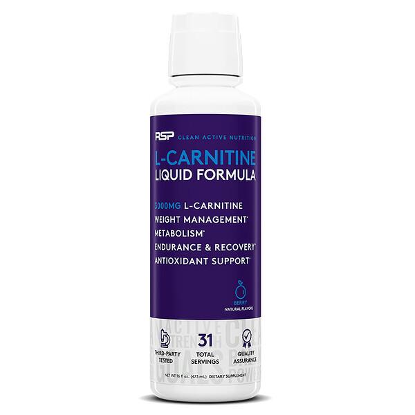 L-Carnitine, Berry, 3,000 mg, 16 fl oz (473 ml)