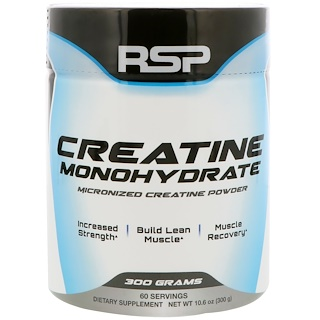 RSP Nutrition, Creatine Monohydrate, 10.6 oz (300 g)