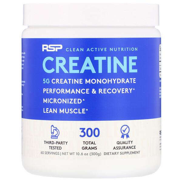 Creatine Monohydrate Powder, 5 g, 10.6 oz (300 g)