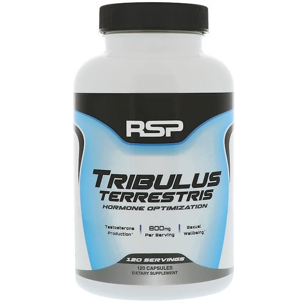 RSP Nutrition, Tribulus Terrestris, Hormone Optimization, 120 Capsules