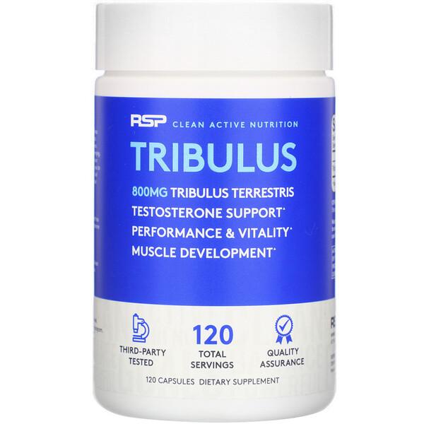 Tribulus, 800 mg, 120 Capsules