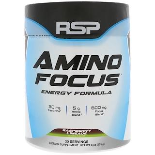 RSP Nutrition, التركيز الأميني، تركيبة الطاقة، التوت المتكلس، 8 أوقية (225 جم)