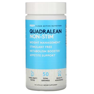 RSP Nutrition QuadraLean Non-Stim, 150 Capsules