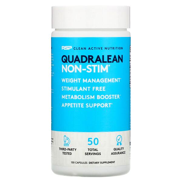 RSP Nutrition, QuadraLean, Stimulant-Free Weight Management, 150 Capsules