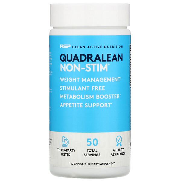 RSP Nutrition, QuadraLean Non-Stim, 150 Capsules