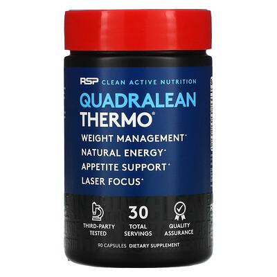 RSP Nutrition QuadraLean Thermo, Fat Burner, 90 Capsules