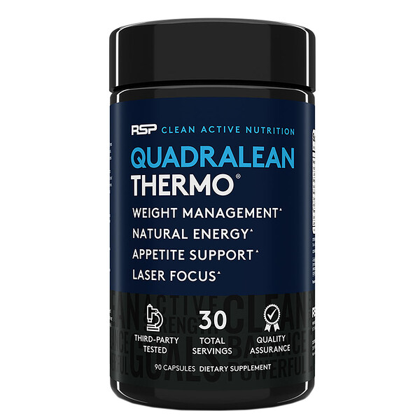 QuadraLean Thermo, Fat Burner, 90 Capsules