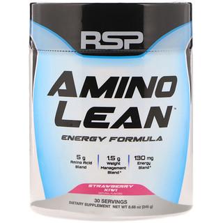RSP Nutrition, AminoLean, Weight Management + Energy Formula, Strawberry Kiwi,  8.68 oz (246 g)