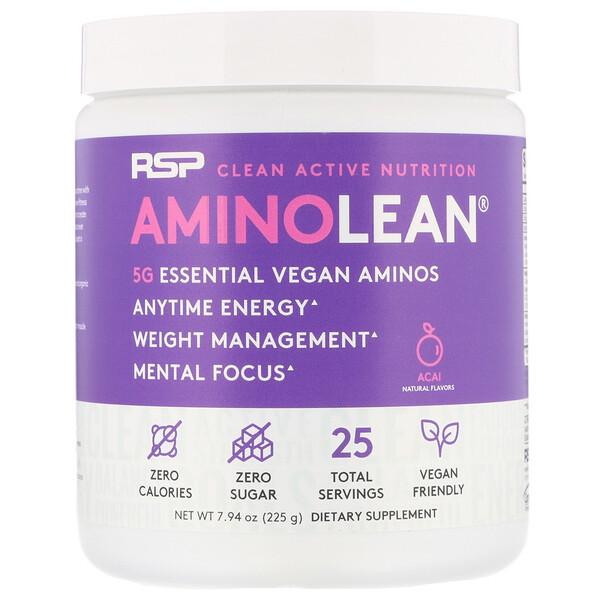 RSP Nutrition, AminoLean, Acai, 7.94 oz (225 g)
