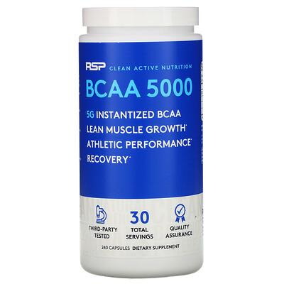 Купить RSP Nutrition BCAA 5000, 240капсул