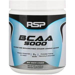 RSP Nutrition, BCAA 5000, Unflavored, 5,000 mg, 10.58 oz (300 g) отзывы
