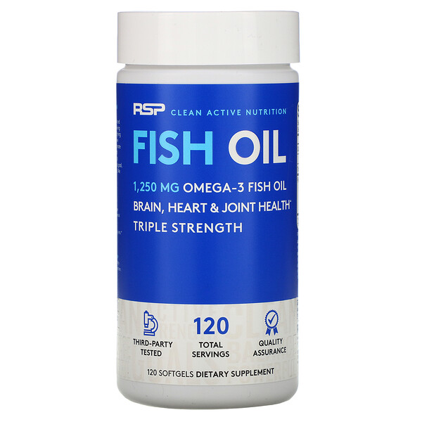 Fish Oil, 120 Softgels