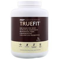 TrueFit, сывороточный протеиновый коктейль из экологически чистых ингредиентов, шоколад, 1,92 кг (4,23 фунта) - фото
