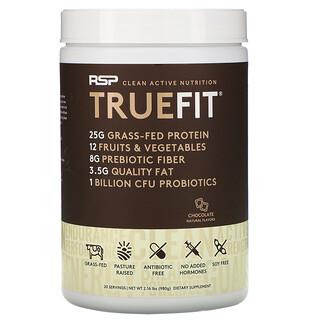RSP Nutrition, تروفيت، مخفوق بروتين مصل اللبن القائم على التغذية العشبية، شوكولاتة، 2 رطل (940 جم)