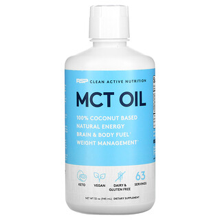 RSP Nutrition, Clean Active Nutrition, MCT Oil, 32 oz (945 ml)