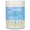 RSP Nutrition, AvoCollagen, пептиды коллагена и масло авокадо в виде порошка, ваниль, 400г