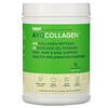RSP Nutrition, AvoCollagen, пептиды коллагена и масло авокадо в виде порошка, без добавок, 360г