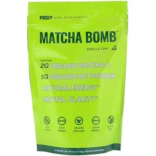 RSP Nutrition, Matcha Bomb, Vanilla Chai, 5.3 oz (150 g)