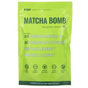 RSP Nutrition, Matcha Bomb, Unflavored Matcha, 4.9 oz (140 g) отзывы покупателей