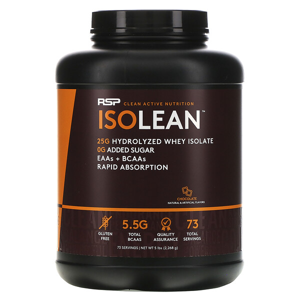 Isolean, Chocolate, 5 lbs (2,268 g)