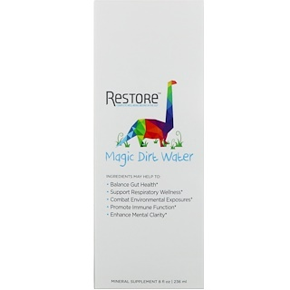 Restore, 子供用マジックダートウォーター、8 fl oz (236 ml)