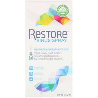 Restore, Spray para os Seios Nasais, 30 ml