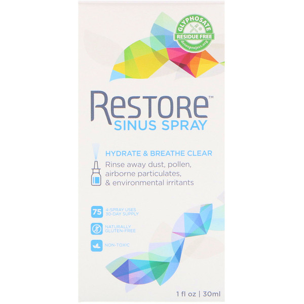 Restore, Sinus Spray, 1 fl oz (30 ml)