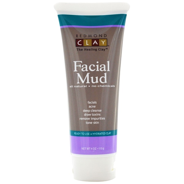 Redmond Trading Company, Facial Mud, 4 oz (113 g) (Discontinued Item)