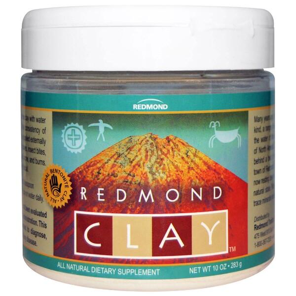 Redmond Trading Company, レドモンドクレイ(Redmond Clay), 10オンス(283 g) (Discontinued Item)