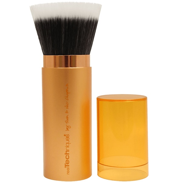 Real Techniques by Sam and Nic, Retractable Bronzer Brush, 1 Brush (Discontinued Item)