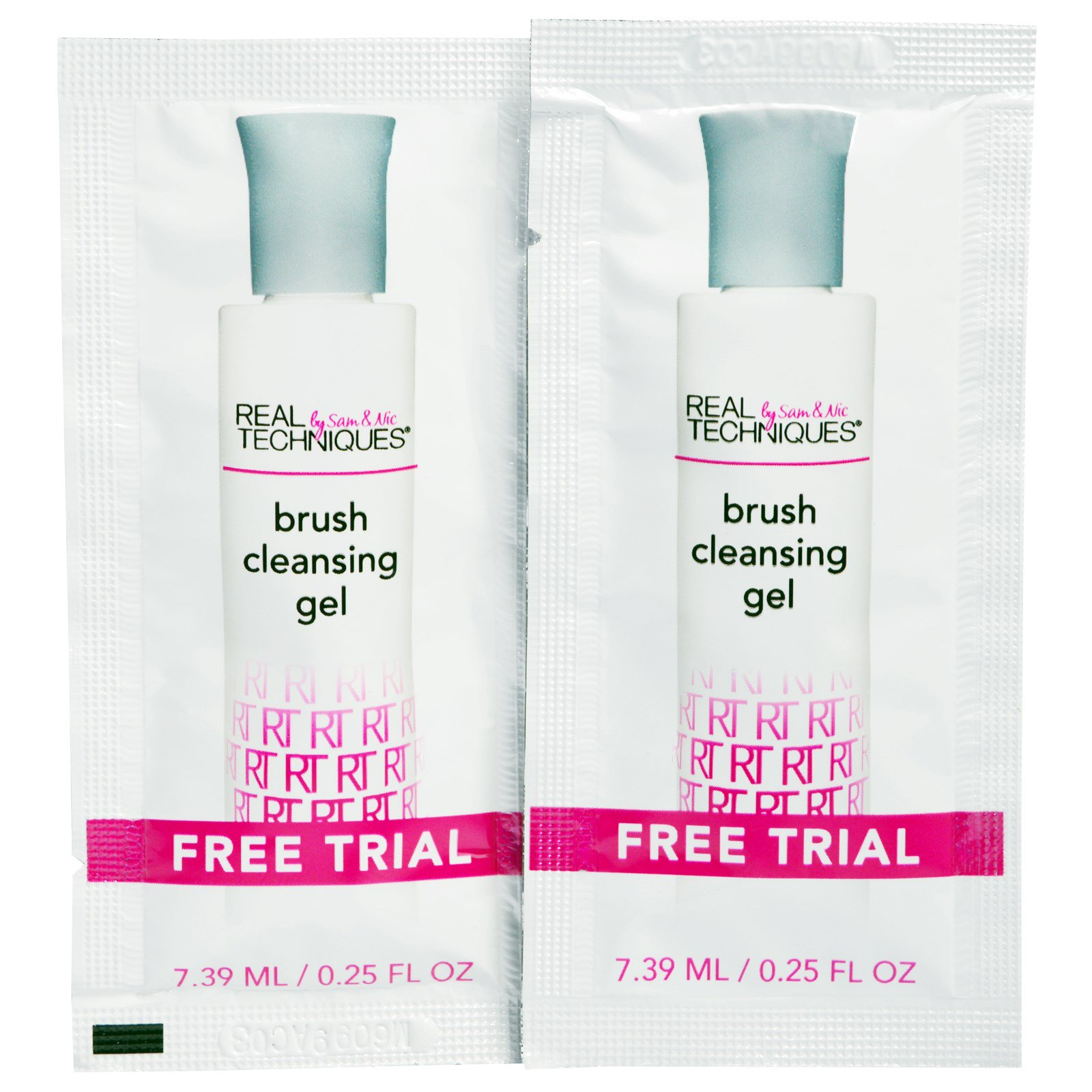 Real Techniques by Sam and Nic, Deep Cleansing Gel, 5.1 fl oz(pack of 1) HOT PINK SONIC FACIAL CLEANSER