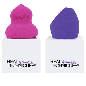 Real Techniques, Miracle Sponges with Stand, 2 Sponges + 2 Stands отзывы