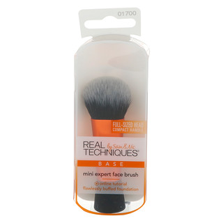 Real Techniques by Sam and Nic, Mini Expert Face Brush, 1 Brush