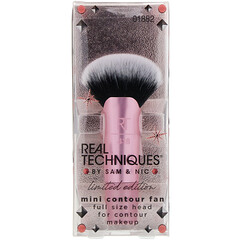 Real Techniques by Samantha Chapman, Limited Edition, Mini Contour Fan Brush, 1 Count