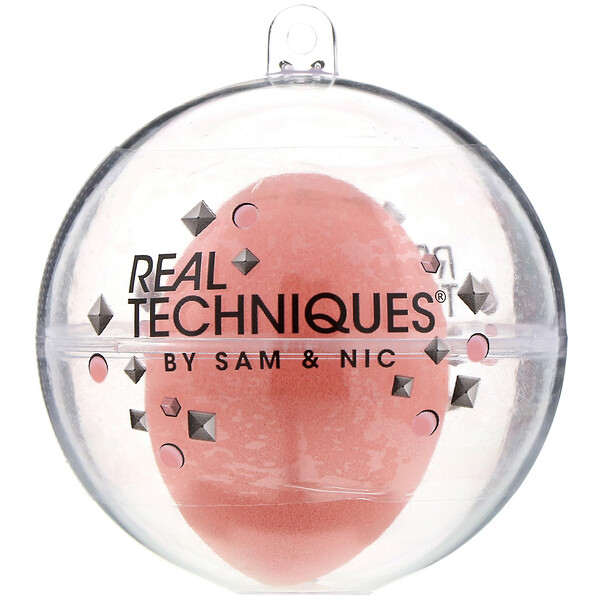 Real Techniques by Samantha Chapman, Limited Edition, Miracle Complexion Sponge Ornament, 1  Sponge (Discontinued Item)