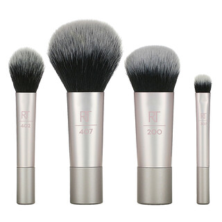 Real Techniques, Limited Edition, Luminous Glow Mini Kit, 5 Piece Gift Set