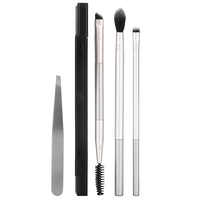 Real Techniques Limited Edition, Brush, Blend, Brow Gift Set, 5 Piece Set