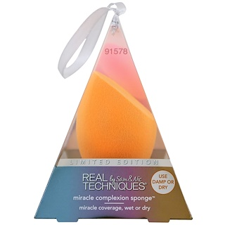 Real Techniques by Sam and Nic, Miracle Complexion Sponge, 1 Sponge