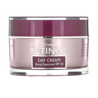 Skincare LdeL Cosmetics Retinol, レチノールデイクリーム、SPF数値20、50g(1.7オンス)