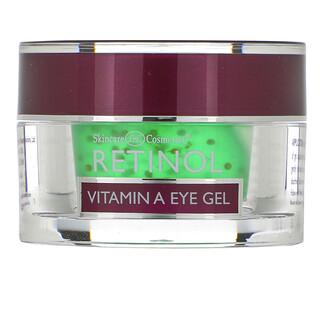 Skincare LdeL Cosmetics Retinol, Retinol Vitamin A Eye Gel, 0.5 oz (15 g)